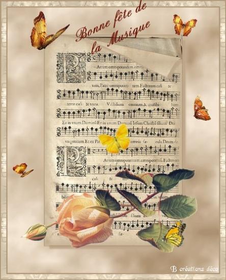 fête de la musique - partition