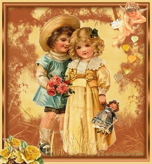 St valentin - enfants