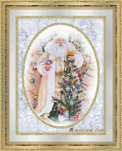 Père Noël - blanc