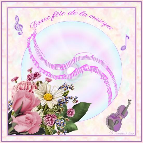 fête de la musique - bouquet
