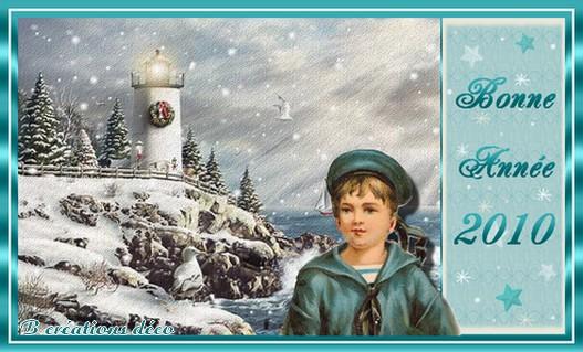 Bonne année marin