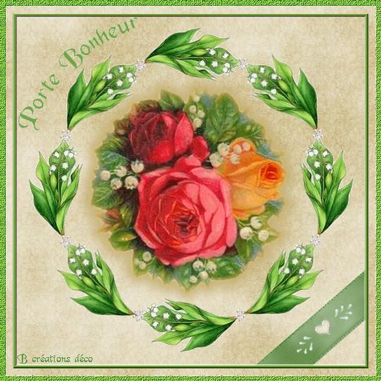 Bouquet porte bonheur