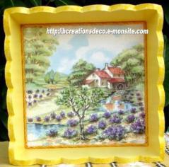 corbeille - paysage de Provence
