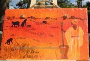 Peinture - Africaine - mil