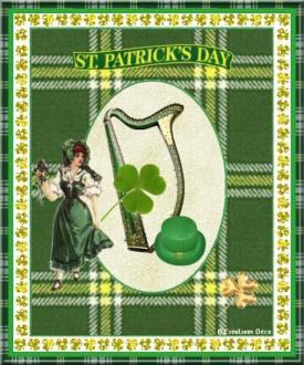 Saint Patrick - harpe - Irlande