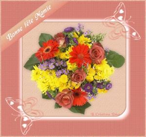 fête mamie - bouquet
