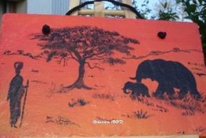 africaine brousse éléphant