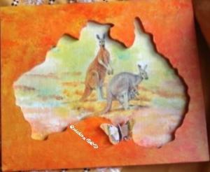Tableau kangourous