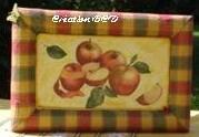 tableau pommes fruits