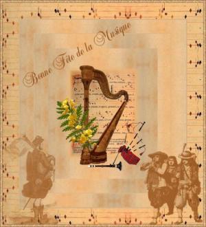 fête de la musique - harpe - celtique