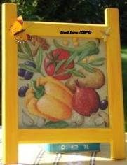 tableau poivron jaune