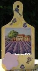 tableau planche mémo Provence