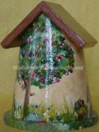 nichoir - la fontaine - peinture