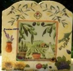 tableau olive Provence
