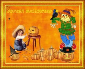 Halloween - épouvantail