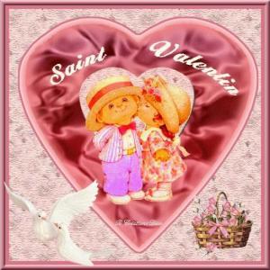 Saint Valentin - enfants -