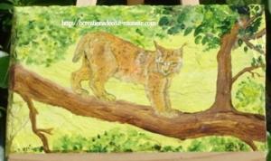 peinture - lynx