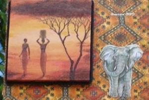 AFRIQUE AFRICAINE ELEPHANT