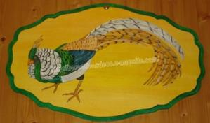 faisan - peinture acrylique