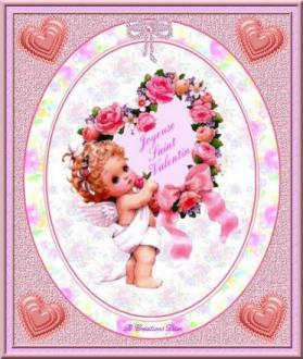 Saint Valentin - cupidon - coeur