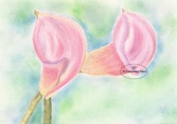 Fleurs pastel 1