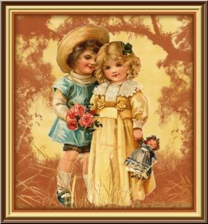 saint valentin - enfants