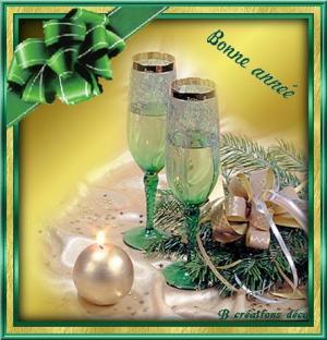 Bonne année - champagne